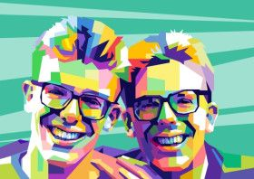 The Proclaimers | Displate thumbnail