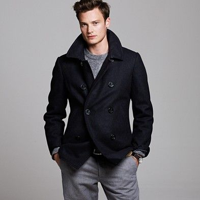 Authentic Bayswater peacoat by Jcrew. This is coat that I will ...