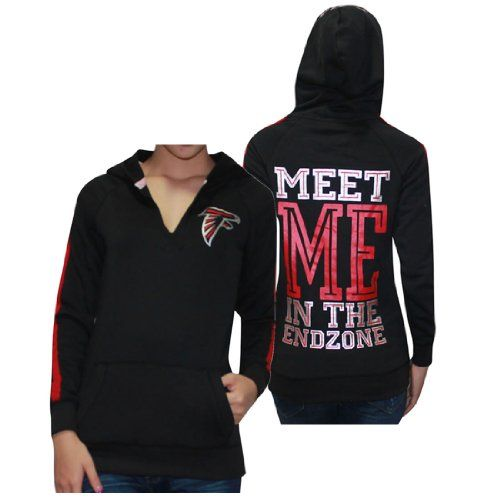 39.99 nice womens nfl atlanta falcons athletic pullover hoodie by pink victorias secret