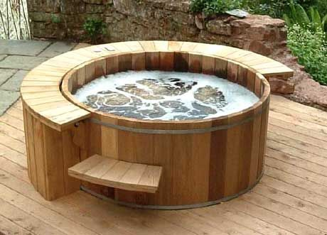 Cedar Wooden Hot Tubs Round Hot Tub Hot Tub Outdoor Small Hot Tub