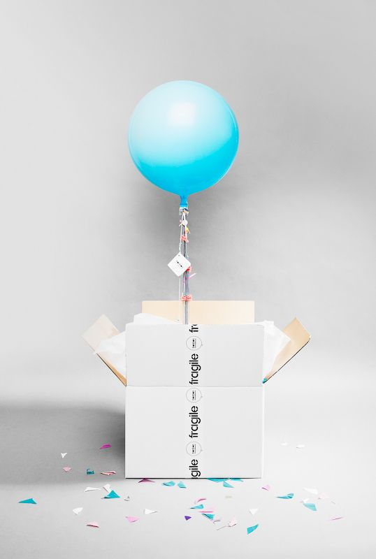 Send A Helium Balloon In The Mail It Floats Right Out Of Box