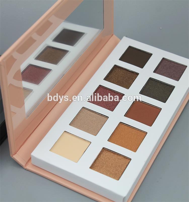 Wholesale Halal Eye Shadow Custom Empty Cosmetics