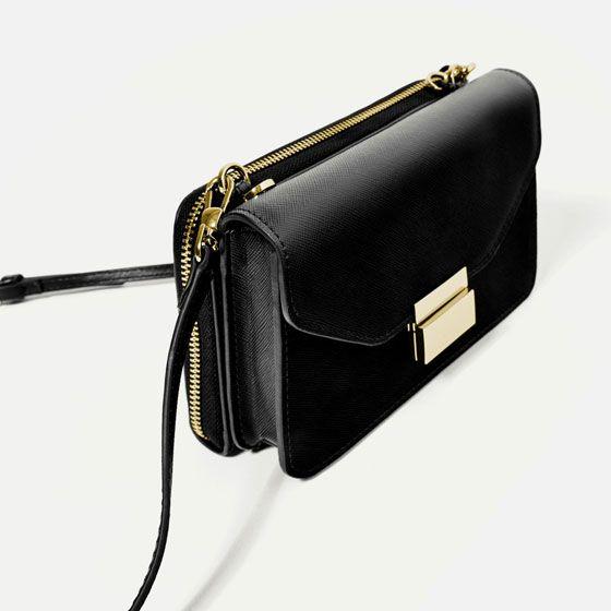изображение 6 из МИНИ-СУМКА С ПЛЕЧЕВЫМ РЕМНЕМ от Zara   New fashion ... a357534eebf