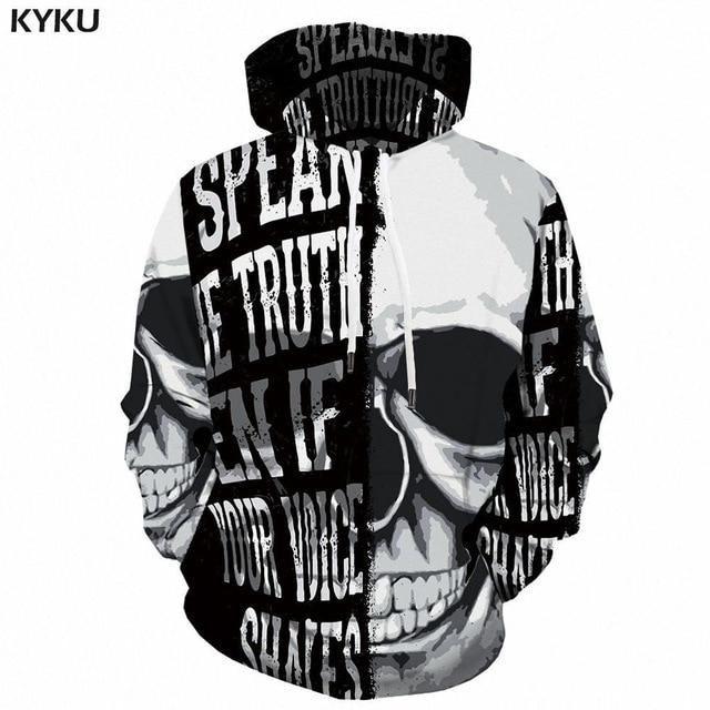 Photo of KYKU Eagle Hoodie Men Streetwear 3D Hoodies Anime 3d Printed Sweatshirt Hooded Animal Mens Clothing Casual Sweatshirts Man New – 3d hoodies 11 / XL