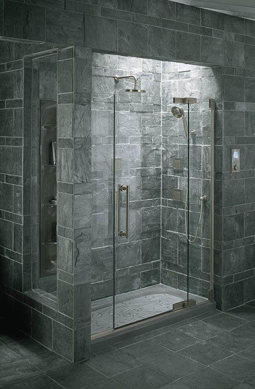 Kohler K 9055 Bathroom Design Small Glass Shower Doors