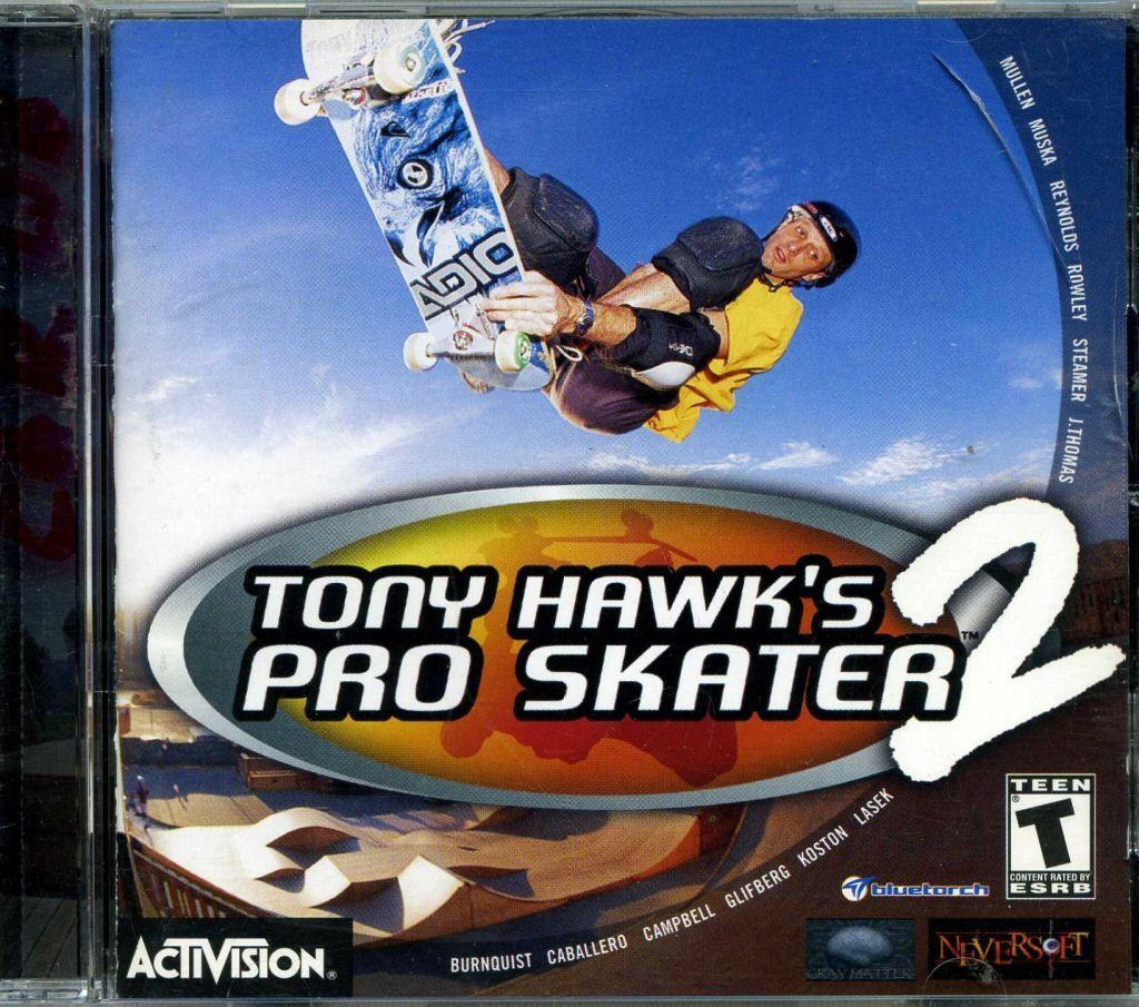 Tony Hawk's Pro Skater 2 (2000) Pro skaters, Tony hawk