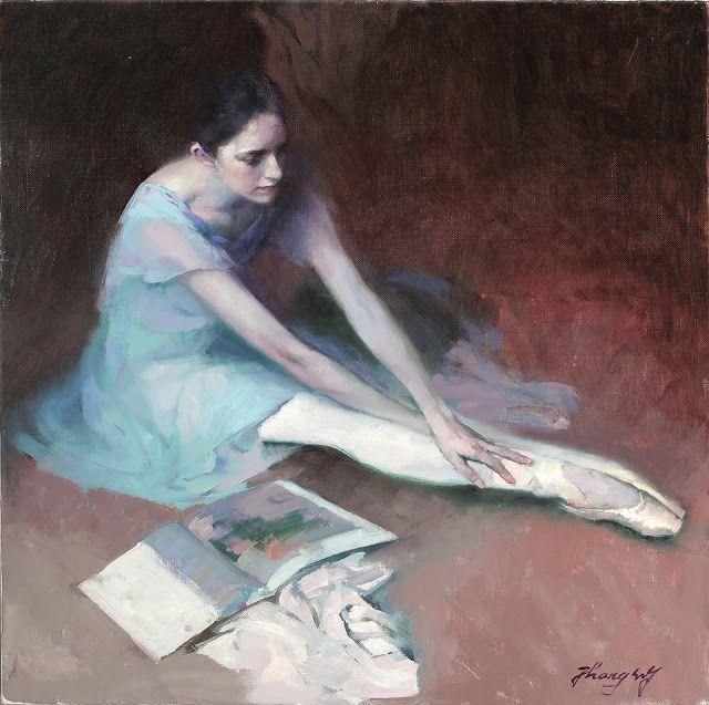 O cão que comeu o livro...: Bailarina com livro / Ballerina with open book
