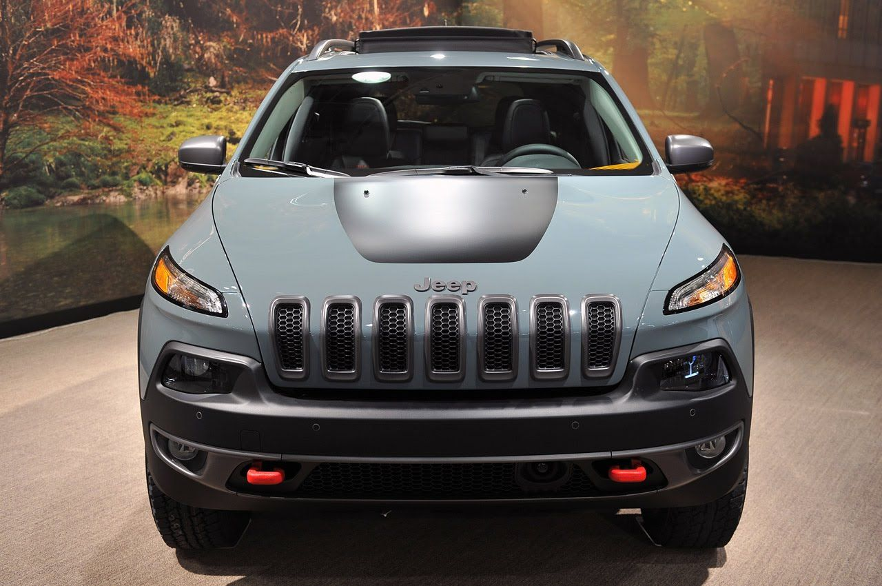 Jeep Cherokee Trailhawk 4x4 ★ Jeep Warning Lights and