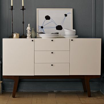 dumont buffet (west elm) is on the wish list