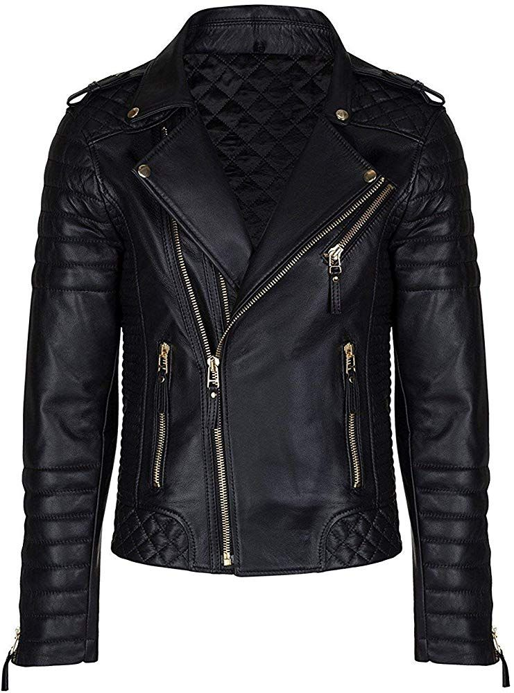 Aries Leathers Men's Real Lambskin Leather Genuine