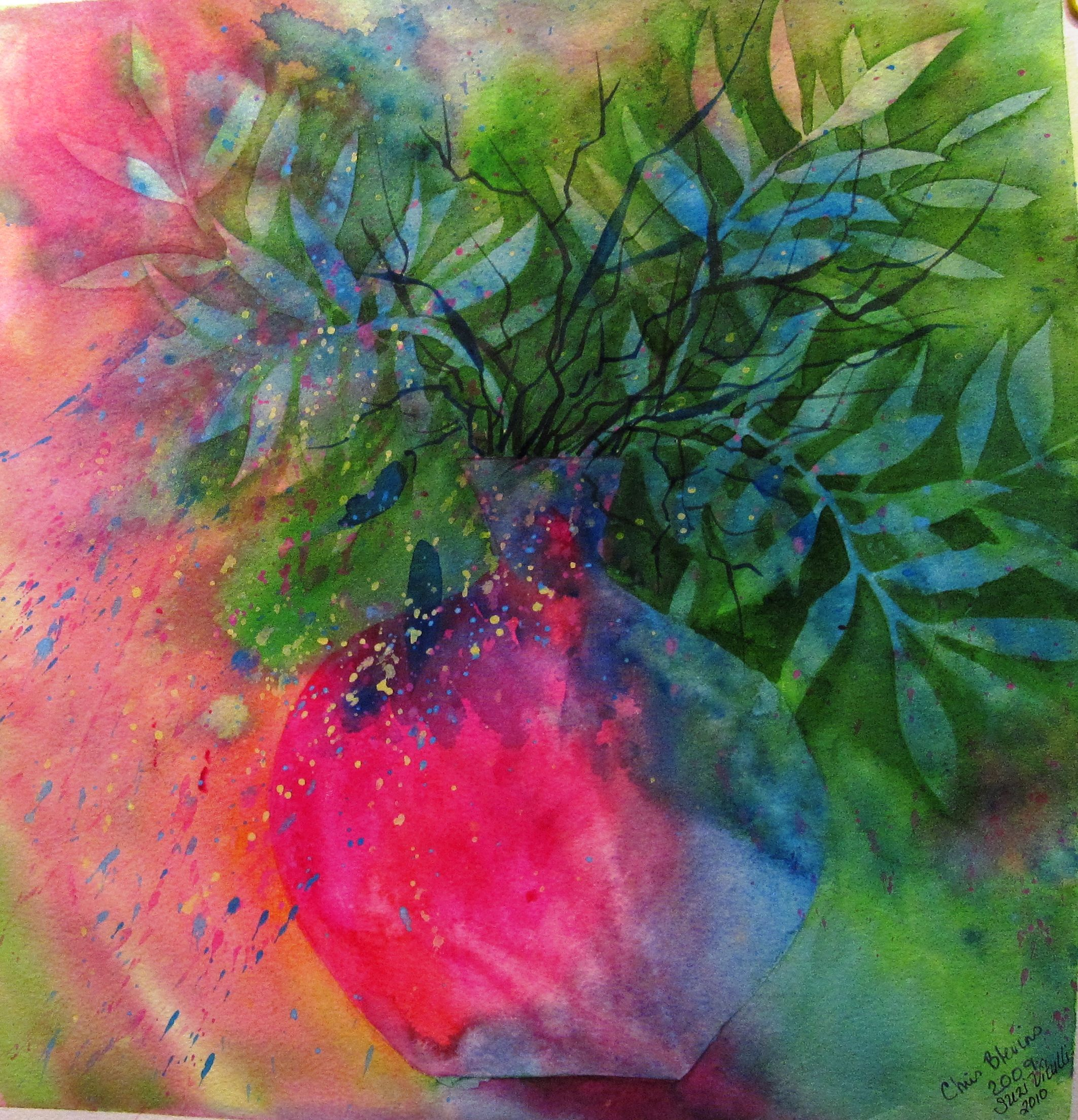Florals Plant Life Watercolour Inspiration