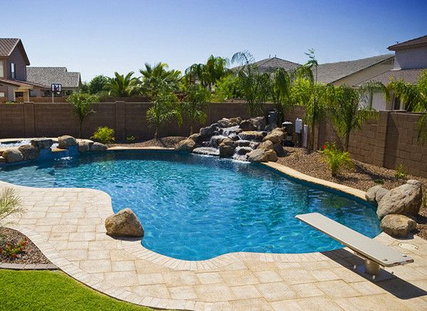 Backyard Designs With Pool small backyard pool woohome 5 Backyard Pool Landscaping Pictures