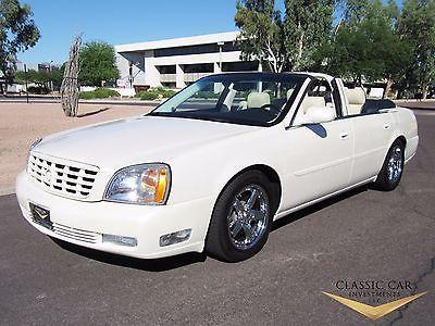 2000 Cadillac DeVille Convertible 2000 Cadillac Deville Coach Built