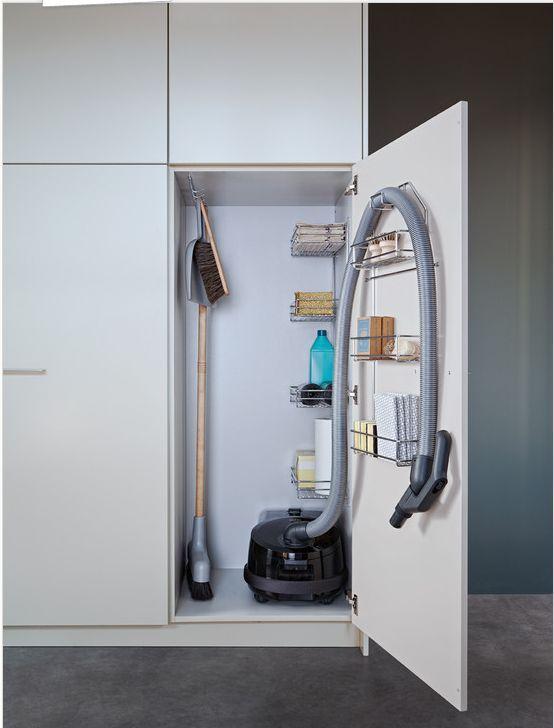 small apartment vacuum cleaner storage Small Apartment Storage ...