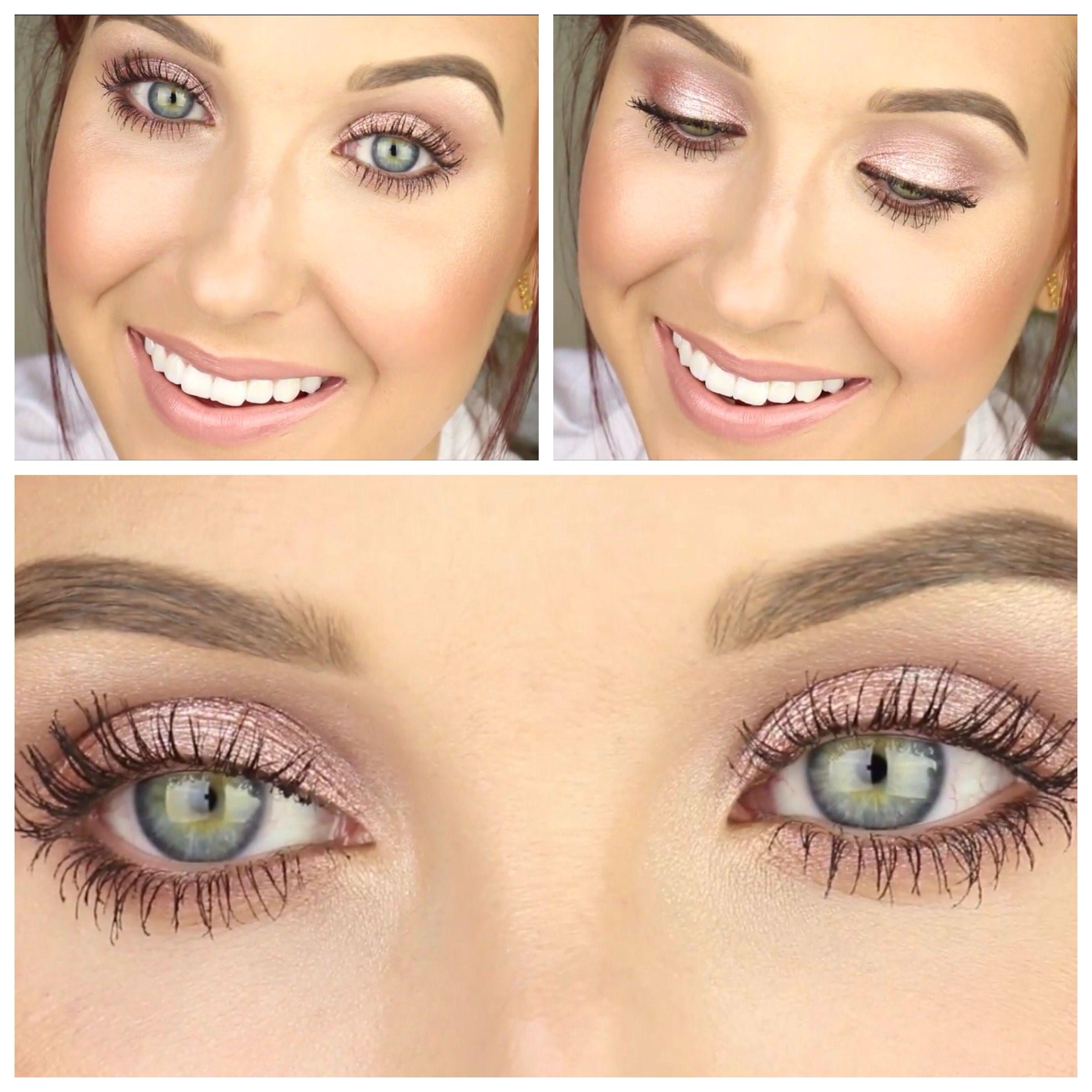 Watch Simple Kate Moss Inspired Eye Makeup Tutorial video