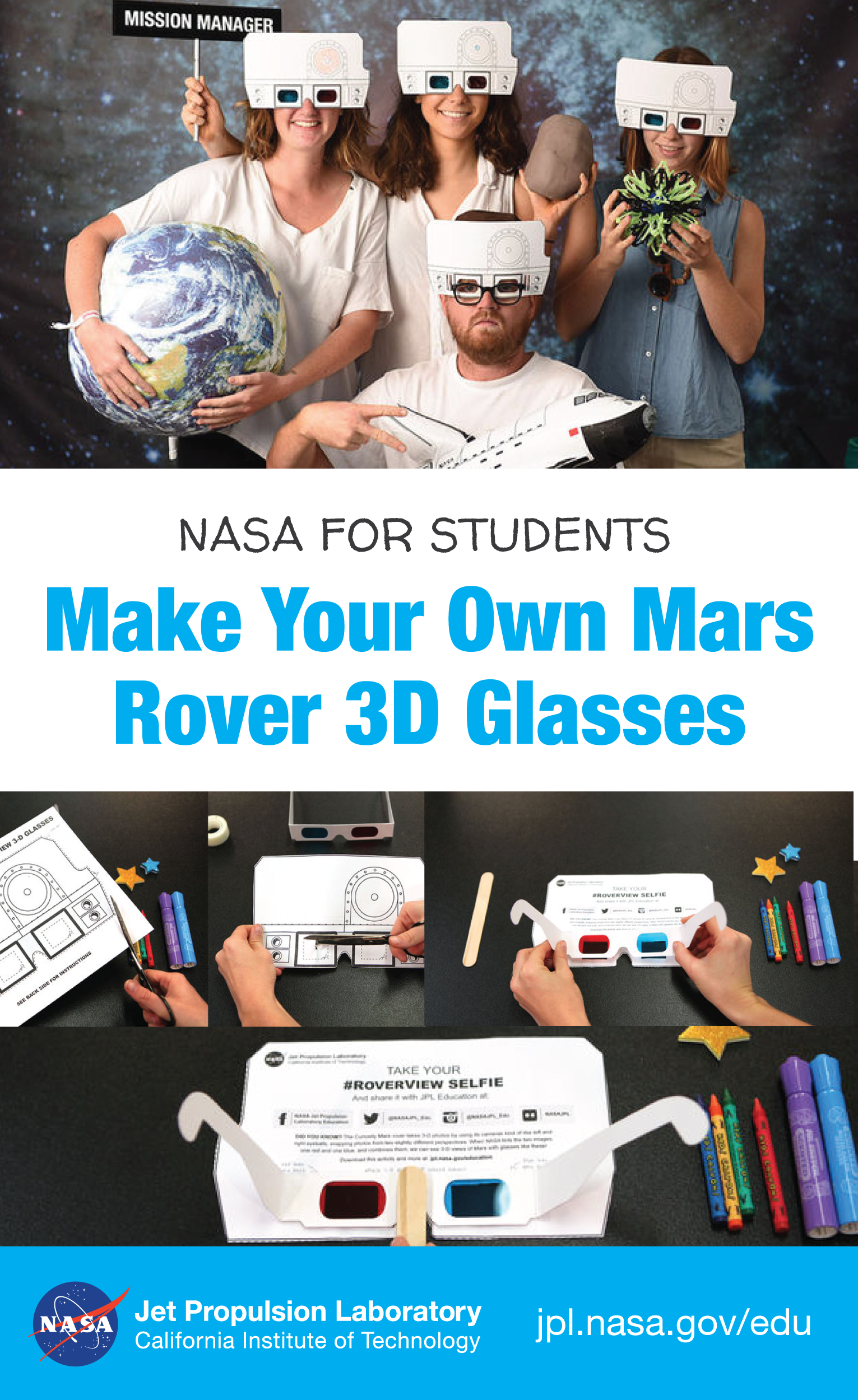 Student Project Roverview 3 D Glasses