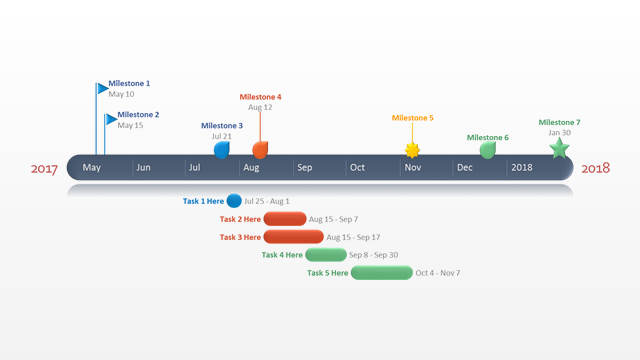 PowerPoint FREE Timeline Template