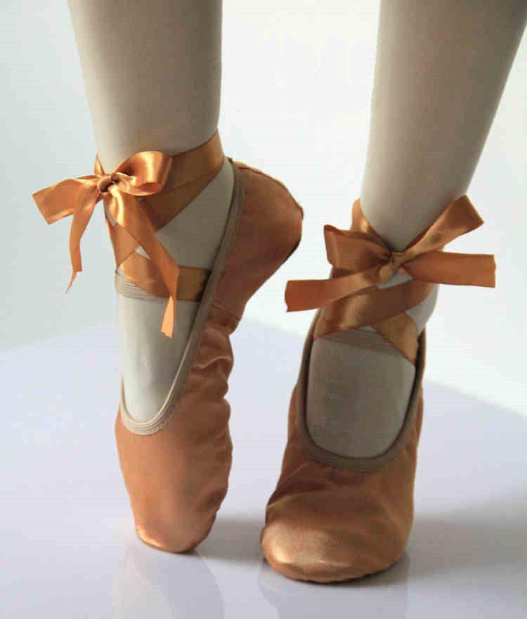Ballet de cuero de mujer Zance Flat, vino, 5.5 M US