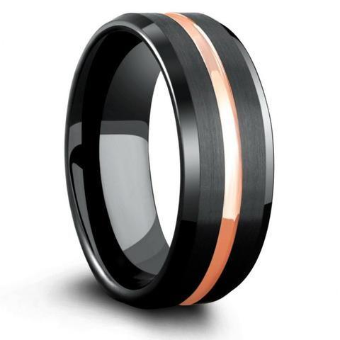 Mens Tungsten Wedding Bands Mens Unique Wedding Bands Tagged Color Black In 2020 Mens Wedding Bands Tungsten Black Mens Wedding Rings Black Tungsten Wedding Band