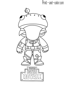 Fortnite Coloring Pages Coloring Books Animal Coloring Books