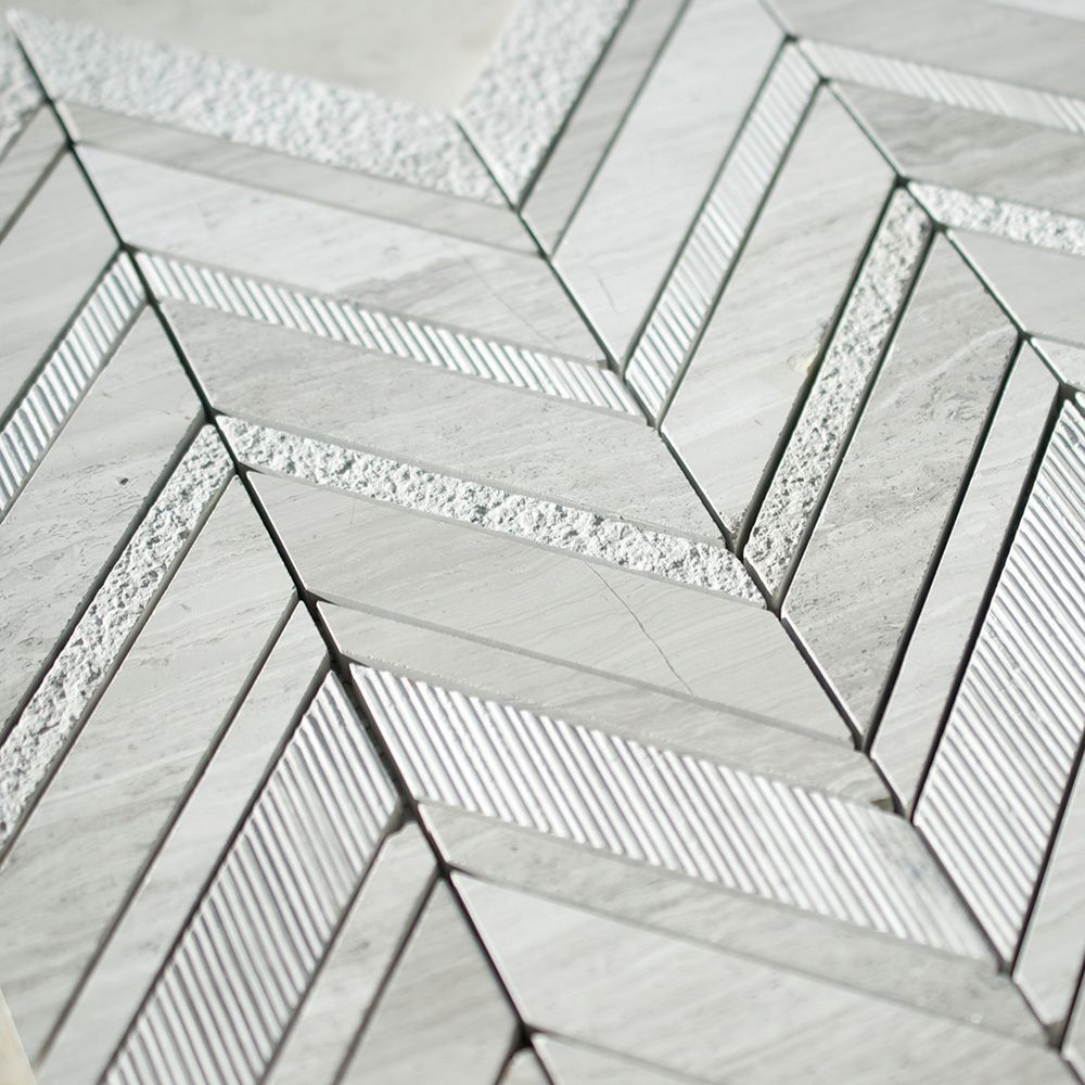 Chevron Marble Rug: Tiles, Marble Tiles