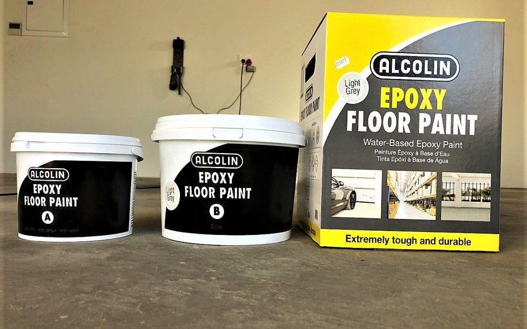 Alcolin Water Based Epoxy Floor Paint Protective Top Coat For Screeds Epoxy Floor Epoxy Floor Paint Painted Floors