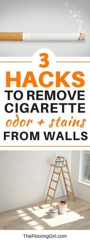 How to remove cigarette smell and stains from walls | Walls
