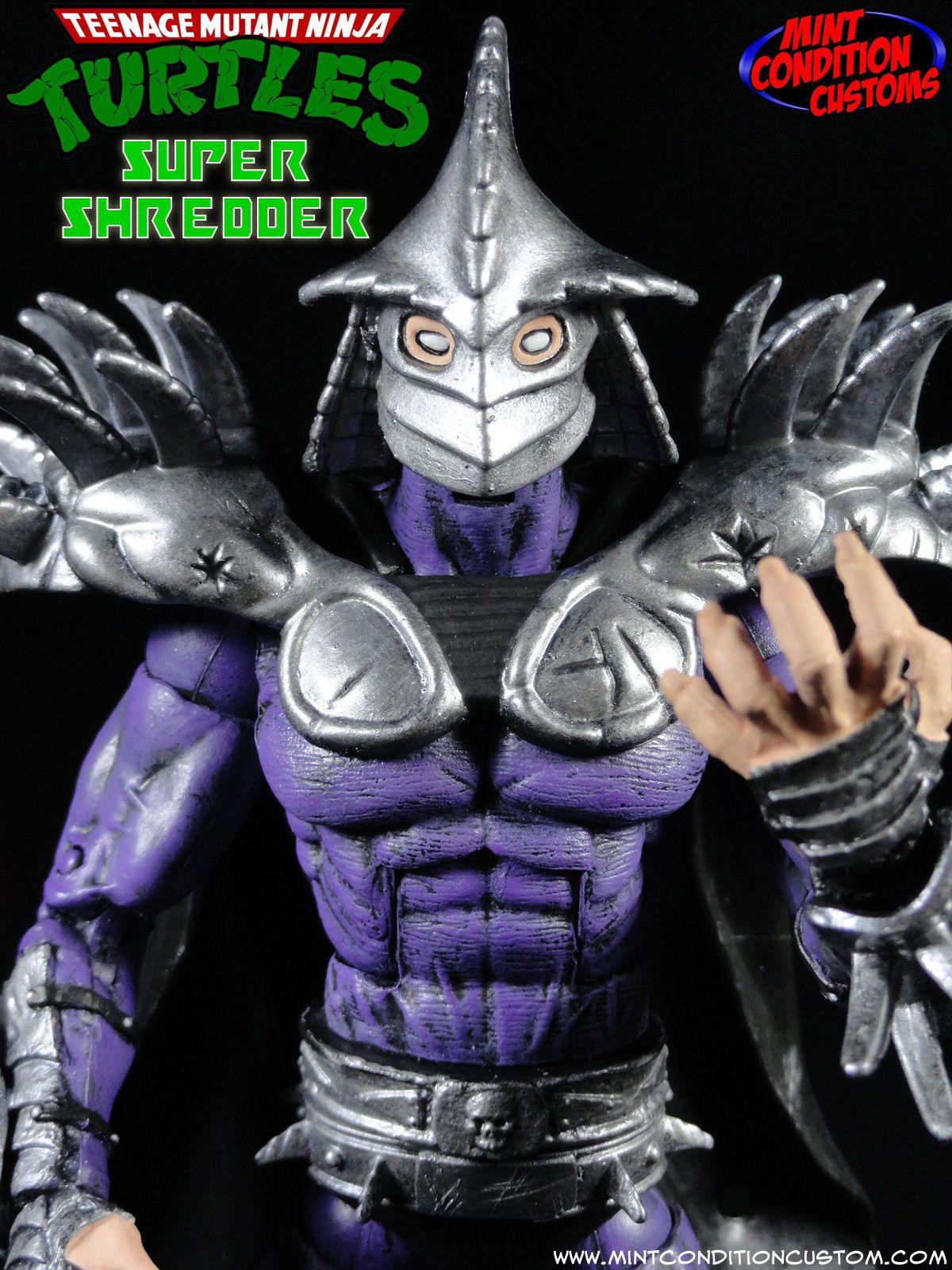 Custom Super Shredder Tmnt Ninja Turtles Marvel Legends Universe Action Figure Tmnt Marvel Legends Action Figures
