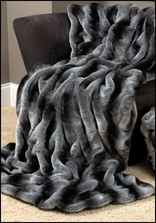 Large Faux Fur Throws for sofas