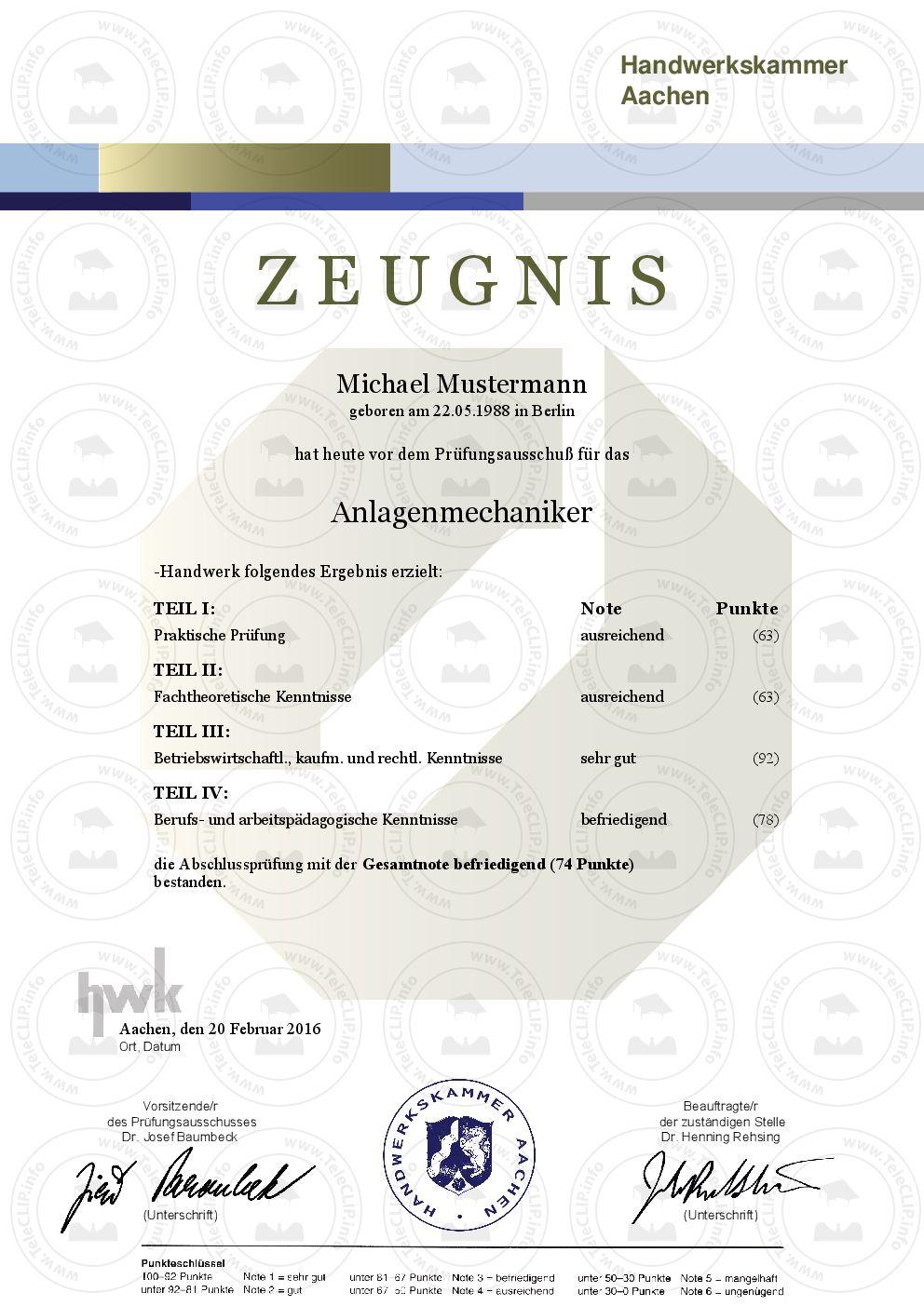 Professionelle Dokumente – Individuelle Urkunden & Zertifikate ...