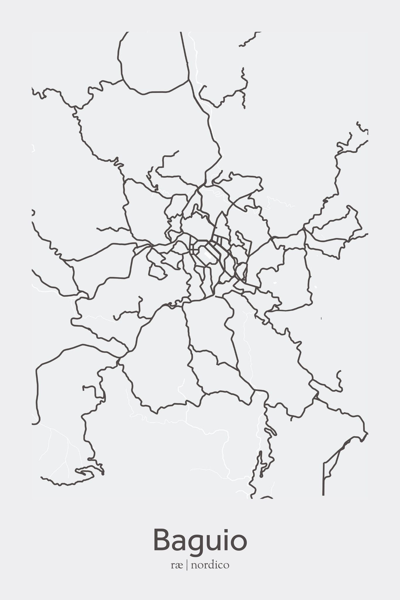 City Maps For Sale on