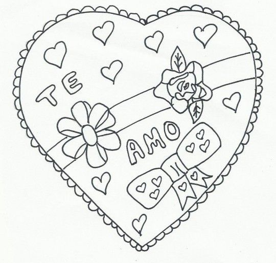 Alin Hermosas Imagenes De Corazones Para Dibujar De Amor Love