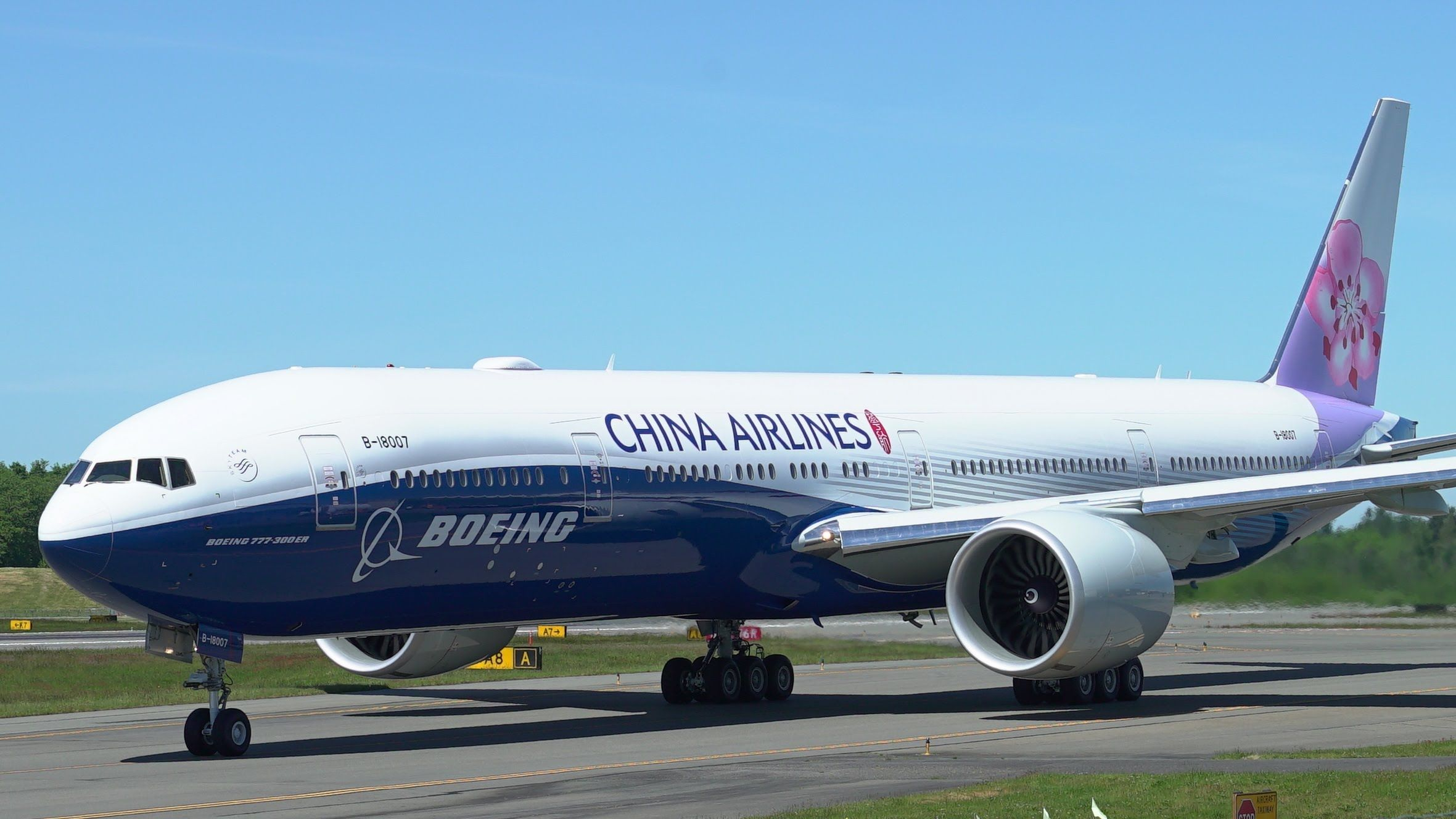 China Airlines 777 Dreamliner Livery Awesome Test Flight