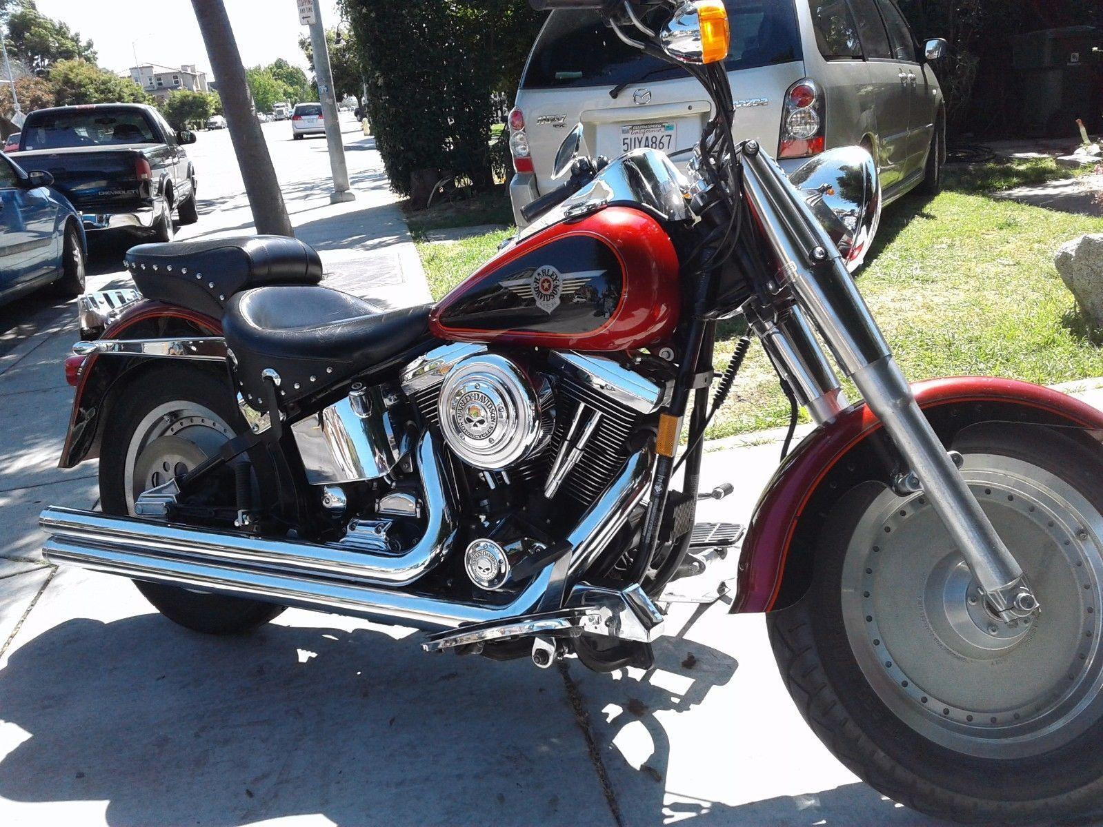 Ebay 1999 Harley Davidson Softail Fantastic 1999 Harley Davidson Fatboy Same Model Arnold Rode In Terminator 2 Harl Harley Fatboy Harley Davidson Harley Da