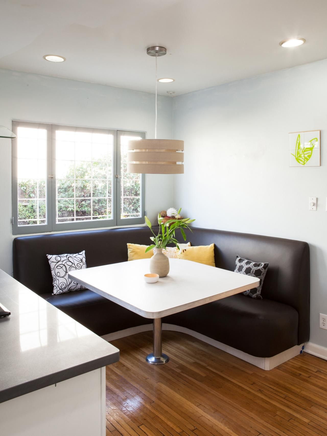 Team Drew Transformed This Breakfast Nook With A Fresh