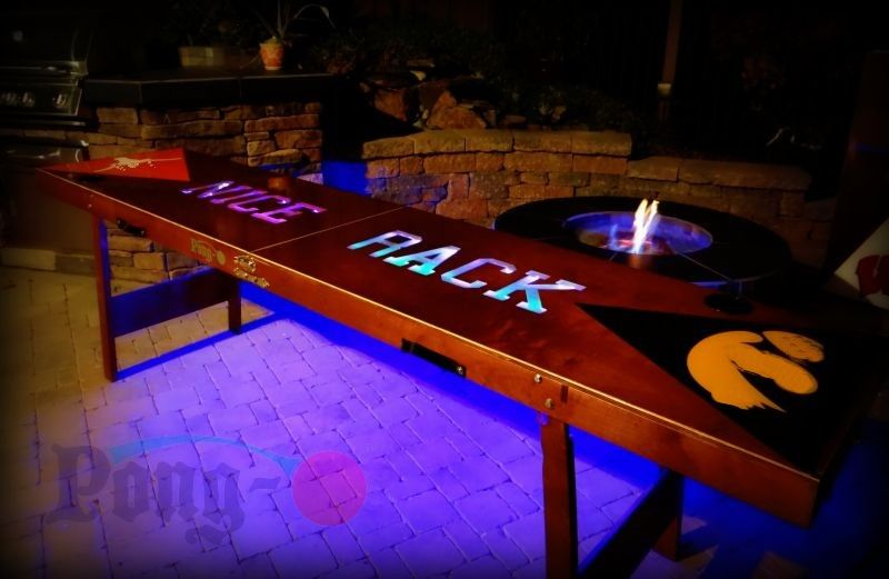cool beer pong table beer pong table ideas custom beer pong rh pinterest com custom beer pong tables with lights custom beer pong table uk