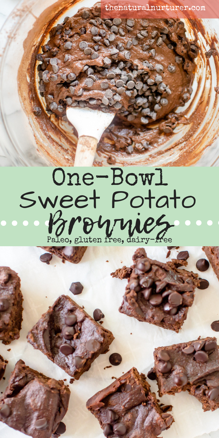 One-Bowl Sweet Potato Brownies {Paleo} images