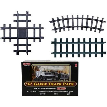 Set of 13 39 g 39 gauge christmas train track pack for use for Rollplay kids ride on 6v mercedes benz gl450 suv white