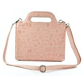 Case Star cute witch PU Leather Carrying Bag/Hand bag Style Case with Shoulder Strap, Case Star Cellphone Bag-Pink  Case Star  $14.99    http://amzn.to/SbS7Gh