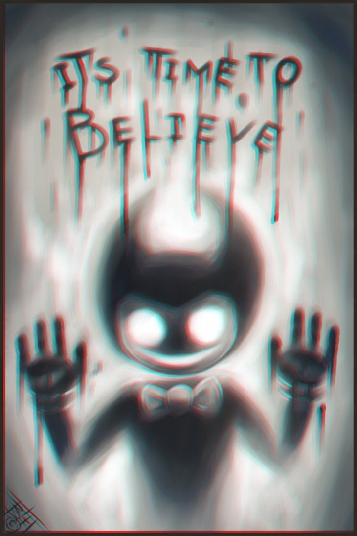Bendy Its Time To Believe By Believethehorror Bendy And The