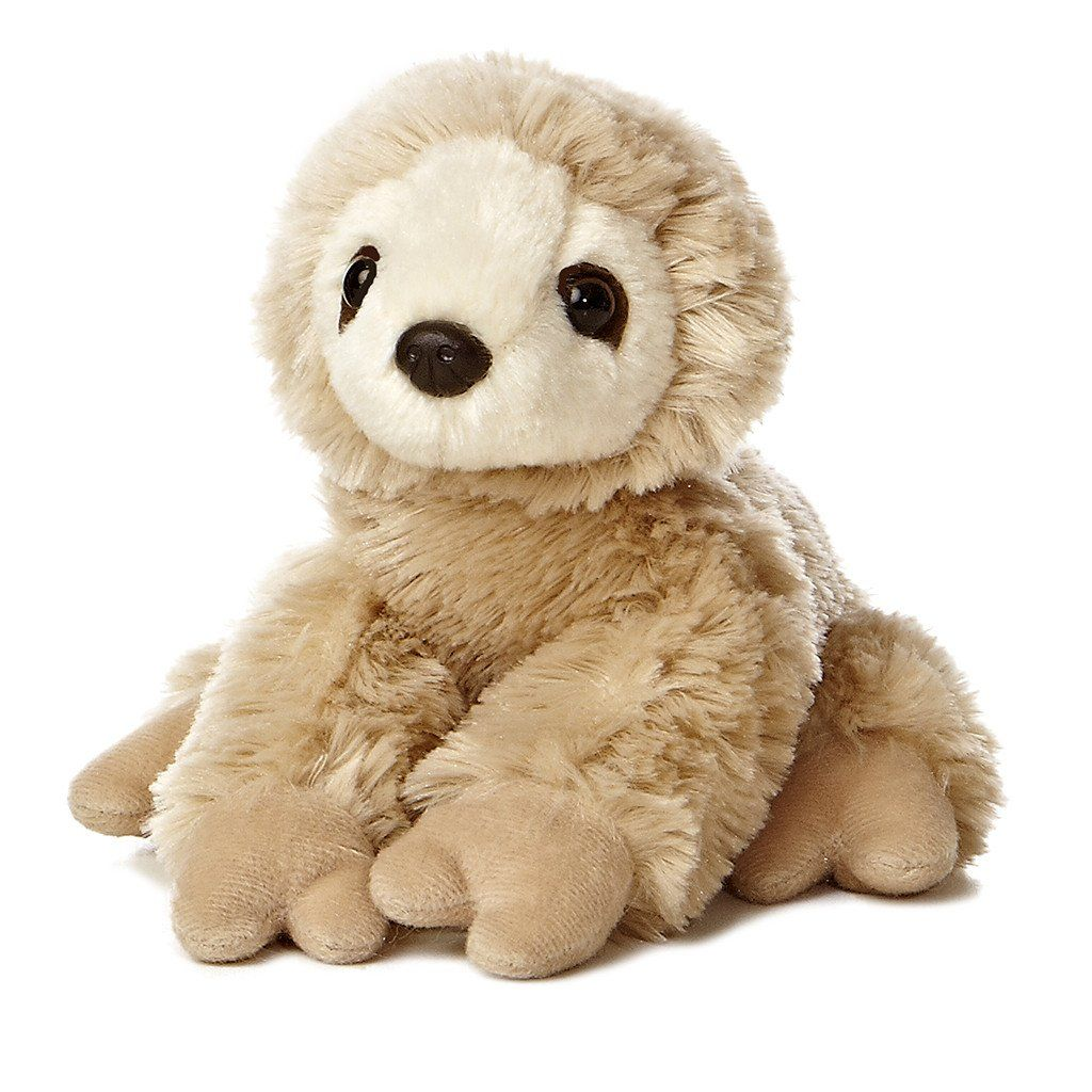 Mini Flopsies Sloth 8in toy Sloth, Two toed sloth