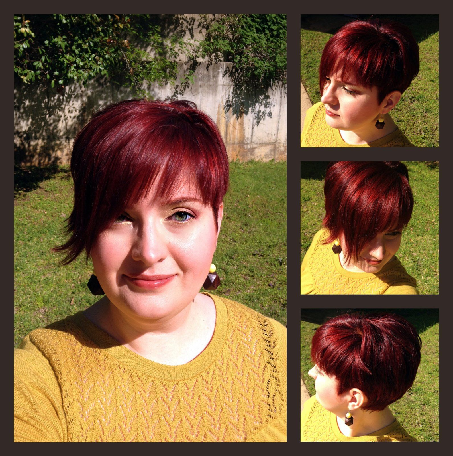 Asymmetrical Short Red Hair Does It Get Anymore Fun Than That Short Red Hair Short Hair Styles Stylish Hair