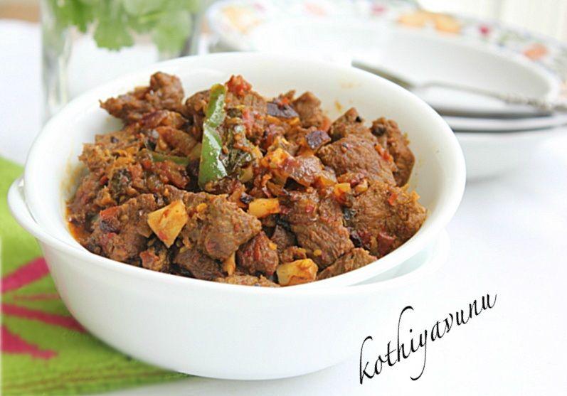 Nadan Chilli Beef Recipe Beef Ularthiyathu Recipe Kerala Style Chilli Beef Recipe Kothiyavunu Com Beef Recipes Chilli Beef Recipe Indian Food Recipes