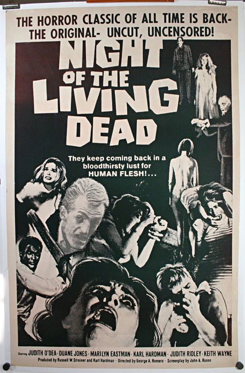 Night Of The Living Dead Vintage Horror Movie Poster Wall Art Museum Outlets Classic Horror Movies Posters Horror Movie Posters Movie Posters Vintage