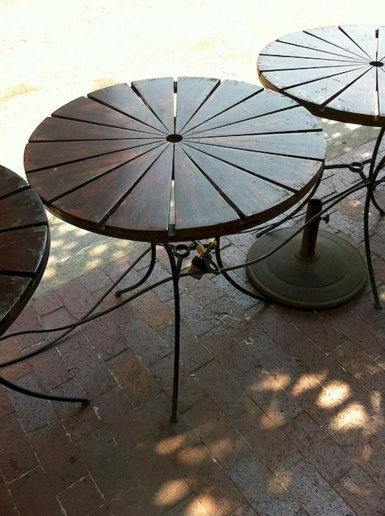 Patio Table Inspirations On A Budget Diy Patio Table