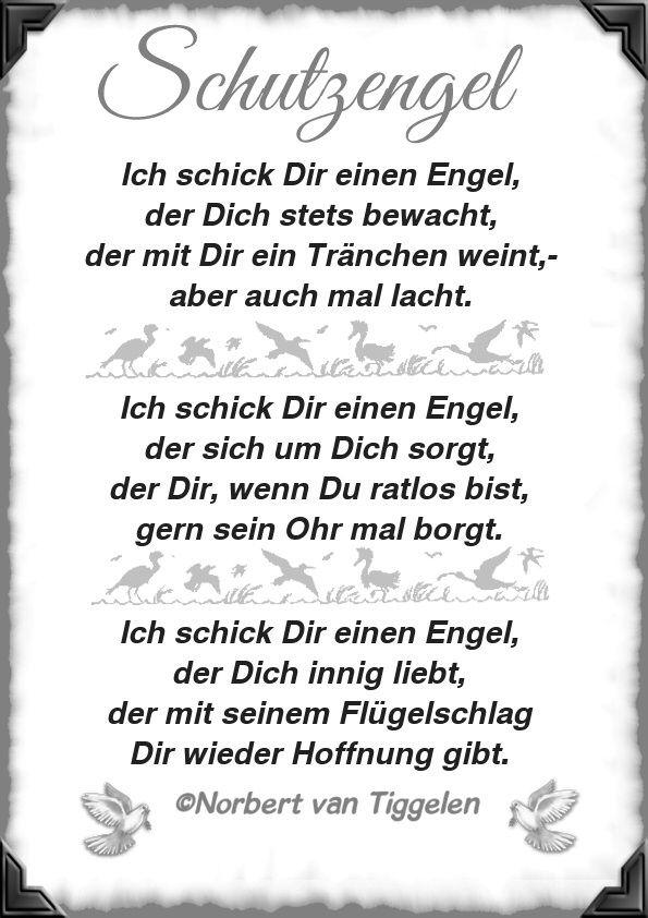 Gedicht wenn engel weinen