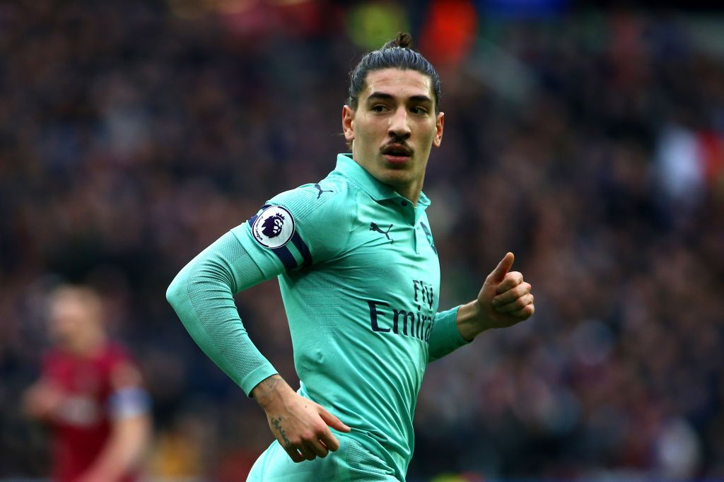 Hector Bellerin Of Arsenal During The Premier League Match Between