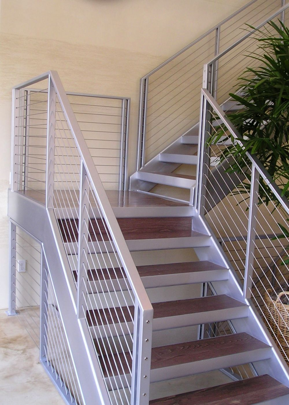Pin By Ultra Tec 174 Cable Railing On Stair Cable Railing