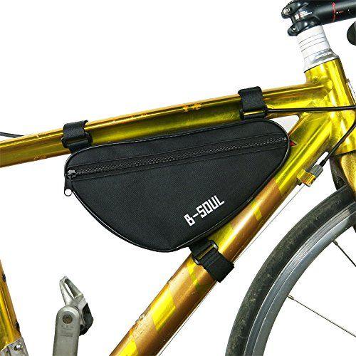 Bike Bicycle Cycling Bag Front Tube Frame Phone Triangle Waterproof Bicycle Bag