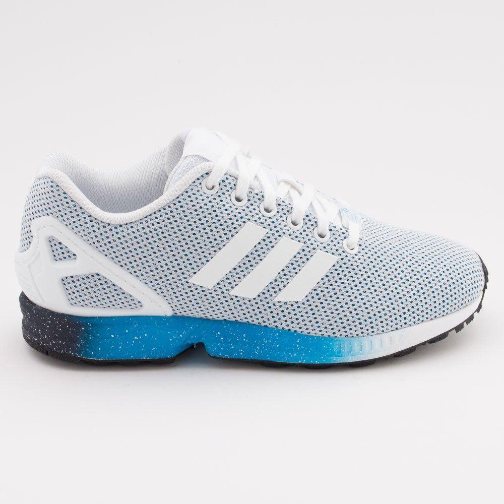 2015 adidas Originals ZX Flux Training Gris/azul Corriendo Zapatos hombres…